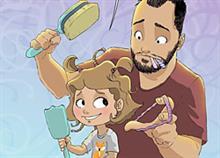 Δείτε τα τρυφερά σκίτσα ενός πατέρα που μεγαλώνει μόνος την κόρη του