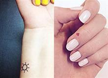 26 χαριτωμένα σχέδια για μικροσκοπικά τατουάζ