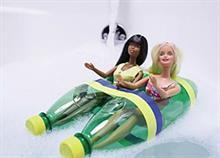 Πώς να φτιάξετε μια βαρκούλα για τις κούκλες της κόρης σας από 3 μόνο υλικά!
