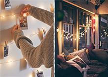 25 εντυπωσιακές ιδέες διακόσμησης με φωτάκια