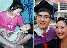Αρνήθηκε να εγκαταλείψει το ανάπηρο μωρό της και σήμερα τον καμαρώνει στο Harvard