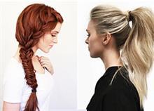 7 χτενίσματα ιδανικά για μαλλιά που φριζάρουν
