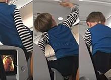 3χρονο παθαίνει κρίση υστερίας σε 8ωρη πτήση και η αντίδραση της μητέρας του διχάζει