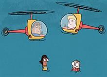 Μήπως είστε κι εσείς γονείς-ελικόπτερα; Το βίντεο που δίνει την απάντηση