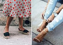 Πώς να φορέσετε σωστά τα καλοκαιρινά παπούτσια