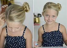 5 χτενίσματα για κορίτσια με κοντά μαλλιά