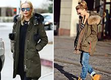 Πώς να φορέσετε το παρκά φέτος τον χειμώνα