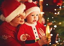 Τα πρώτα μου Χριστούγεννα με το μωρό μου