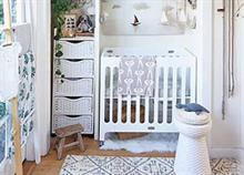 Πώς να φτιάξετε το τέλειο βρεφικό δωμάτιο εάν έχετε μικρό χώρο