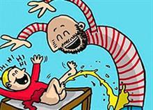 Μπαμπάς που πήρε άδεια πατρότητας κάνει σκίτσα την αστεία καθημερινότητα με τα παιδιά του