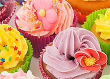 Cupcakes: Συνταγές για πολύχρωμα κέικ