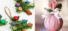 Τα πιο όμορφα χριστουγεννιάτικα στολίδια για να φτιάξετε με τα παιδιά!