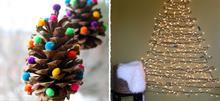 10 πρωτότυπες ιδέες για τον χριστουγεννιάτικο στολισμό