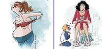 Η ζωή μου μετά τα παιδιά σε 18 χιουμοριστικά σκίτσα