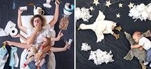 Μαμά μετατρέπει τις αστείες στιγμές με τα 2 παιδιά της σε… καλλιτεχνικές φωτογραφίες