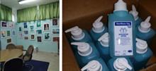 Σχολείο μοιράζει Αντισηπτικά και προλαμβάνει την εξάπλωση των ιώσεων!