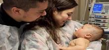 Μωρό 5 μηνών ανάρρωσε από κορονοϊό, μετά από 32 μέρες σε κώμα