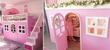 Παππούς έφτιαξε το ωραιότερο «πριγκιπικό» κρεβάτι για την 3χρονη εγγονή του