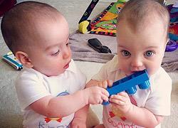 Τα παιχνίδια των διδύμων: Διπλή χαρά - διπλοί κίνδυνοι