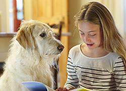 «Πώς ένας σκύλος βοήθησε την κόρη μου να αντιμετωπίσει τις μαθησιακές δυσκολίες»