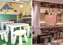 6 υπέροχοι χώροι με φαγητό για τους μεγάλους και παιχνίδι για τα παιδιά!