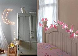 Πώς να διακοσμήσετε το παιδικό δωμάτιο με φωτάκια