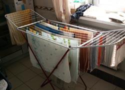 Πώς να στεγνώσει η μπουγάδα γρηγορότερα