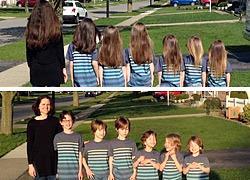 Mαμά και γιοι κόβουν τα μαλλιά τους για να τα δωρίσουν και συγκινούν