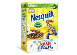 Κερδίστε δημητριακά  NESQUIK<sup>®</sup>!