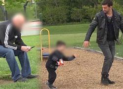 Πώς μπορούν να απαγάγουν το παιδί μπροστά στα μάτια μας (video)