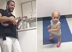 Γιατρός παίζει μουσική σε άρρωστο κοριτσάκι και εκείνη δεν σταματά να χορεύει!
