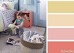Οι καλύτεροι χρωματικοί συνδυασμοί για το παιδικό δωμάτιο
