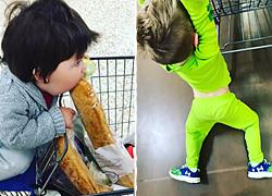 Πώς είναι πραγματικά να πηγαίνεις στο σούπερ μάρκετ με τα παιδιά