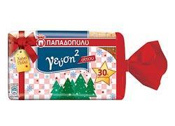 Το ψωμί Παπαδοπούλου τώρα σε χριστουγεννιάτικη συσκευασία