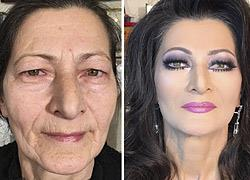Η δύναμη του μακιγιάζ: Make up artist κάνει αυτές τις γυναίκες να φαίνονται έως και 30 χρόνια νεότερες!