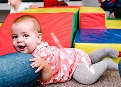4 χώροι με δραστηριότητες για παιδιά από 6 μηνών
