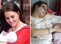 Πώς είναι οι φυσιολογικές γυναίκες λίγες ώρες μετά τον τοκετό: Η απάντηση στην Κέιτ Μίντλετον