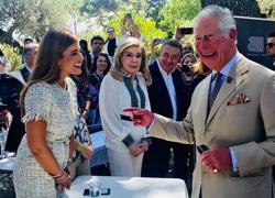 Πώς αντέδρασε ο Πρίγκιπας της Ουαλίας όταν έμαθε τη «μινωική εκτροφή» των χοιρινών της Creta Farms