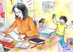Ο μεγαλύτερος φόβος μιας εργαζόμενης μαμάς