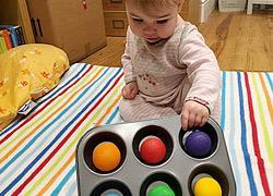 7 δραστηριότητες εμπνευσμένες από τη μέθοδο Μοντεσσόρι για μωρά