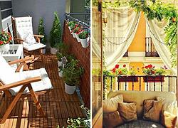 4 ιδέες για να κρατήσετε τα... αδιάκριτα βλέμματα των γειτόνων μακριά απ' το μπαλκόνι σας