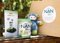 Nestlé NAN Bio: νέο βιολογικό γάλα 2ης βρεφικής ηλικίας σε σκόνη