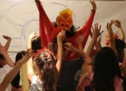 Δημιουργική απασχόληση παιδιών στην Επίδαυρο
