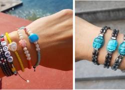 Καλοκαίρι σημαίνει χρωματιστά βραχιόλια για μαμάδες και… παιδιά!
