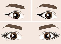 Eyeliner: η σωστή εφαρμογή ανάλογα το σχήμα του ματιού