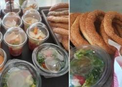 Κυλικεία στην Κρήτη: Αντί για κρουασάν σαλάτες και αντί για σοκολάτες ταχίνι!