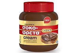 «ΣΟΚΟΦΡΕΤΑ CREAM - Η μία και μοναδική ION Σοκοφρέτα, τώρα και σε κρέμα!»