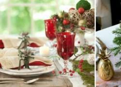Πώς να κάνετε το γιορτινό τραπέζι πιο λαμπερό
