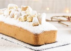 Χριστουγεννιάτικο κέικ από... κουραμπιέδες