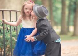 Οι πιο γλυκές φωτογραφίες ενός παιδικού... έρωτα!